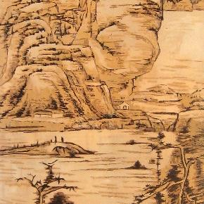 木板雕刻山水图片大全